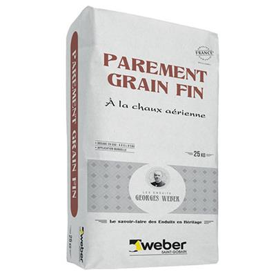 Weber parement grain fin - Sac 25 kg